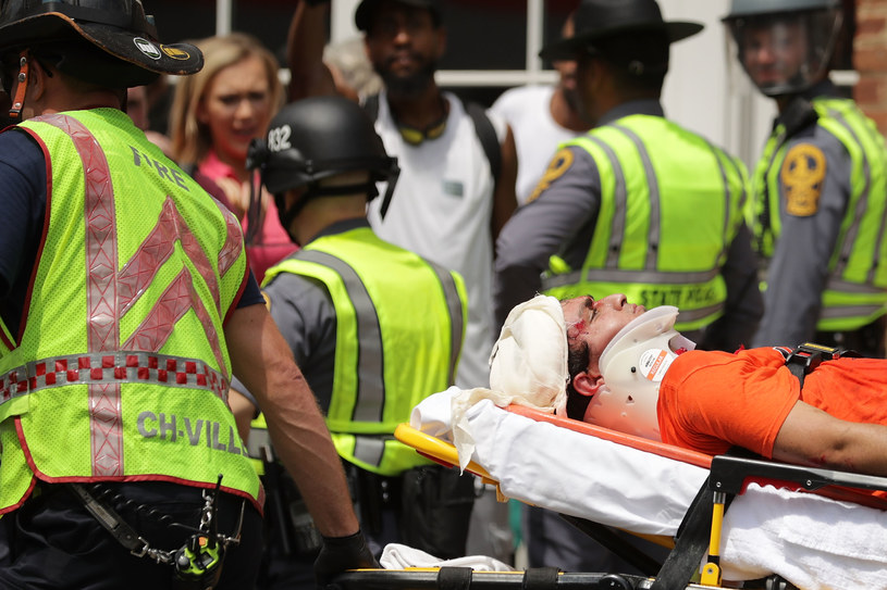 Starcia w Charlottesville /CHIP SOMODEVILLA / GETTY IMAGES NORTH AMERICA / /AFP