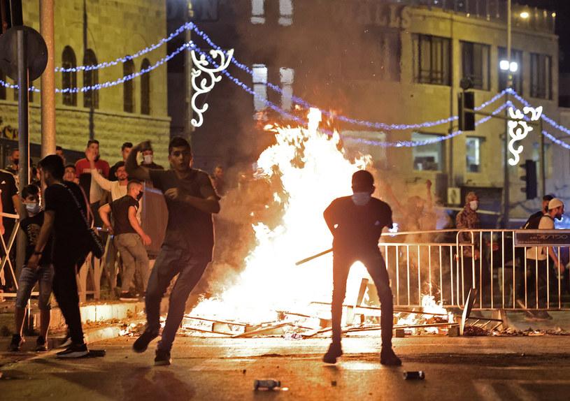 Starcia w Jerozolimie /AFP