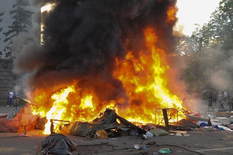 Starcia w Odessie /PAP/EPA