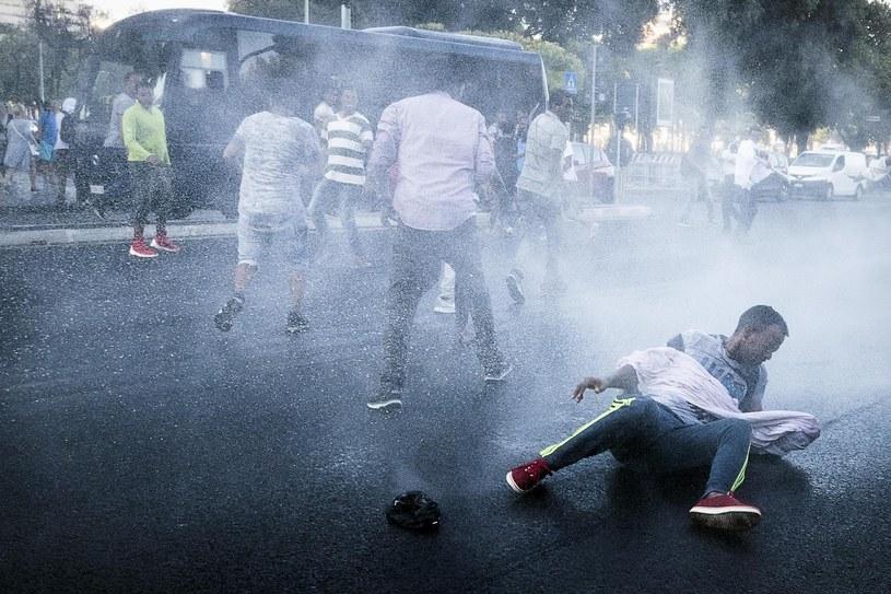 Starcia w Rzymie /ANGELO CARCONI /PAP/EPA