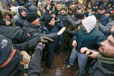 Starcia z milicją w Kijowie. Jest kilkunastu rannych