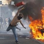 """Starcia z policją na manifestacji """"oburzonych"""" w Rzymie"""