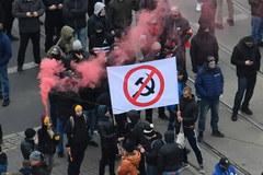Starcia z policją podczas Marszu Niepodległości w Warszawie