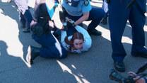Starcia z policją w Sydney. W Australii protestowano przeciwko obostrzeniom covidowym