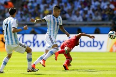 Starcie Argentyny z Iranem w obiektywie