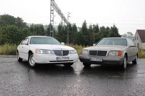 Starcie tytanów. Lincoln Town Car czy Mercedes klasy S?