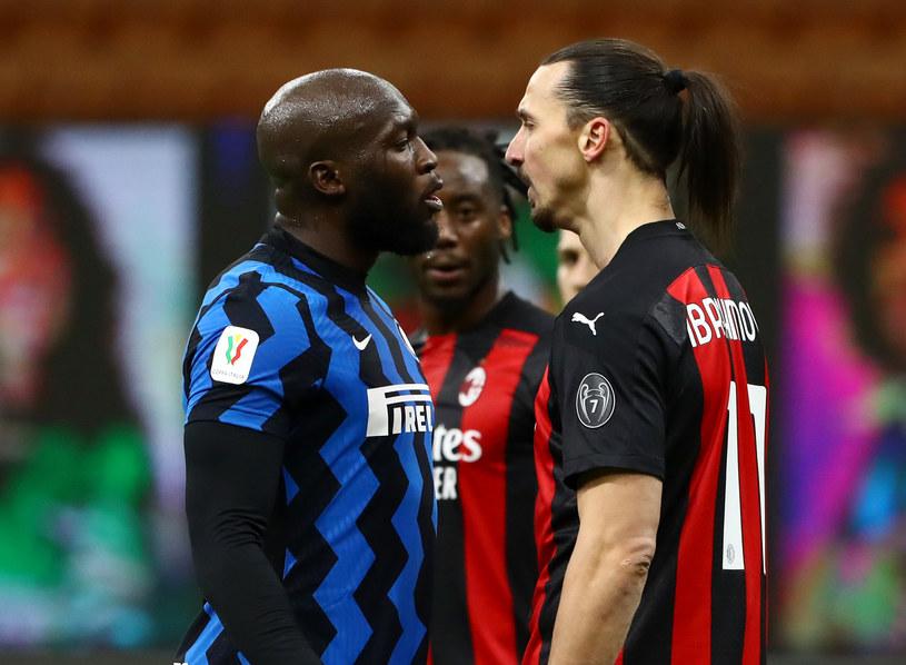 Starcie wagi ciężkiej Romelu Lukaku kontra Zlatan Ibrahimović /Marco Luzzani /Getty Images