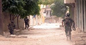 Starciom w Aleppo towarzyszą bombardowania /PAP/EPA /PAP/EPA