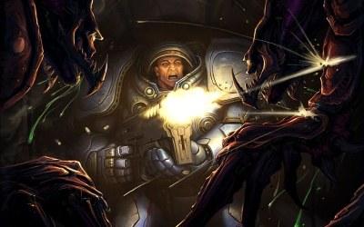 Starcraft 2 - motyw graficzny /Informacja prasowa