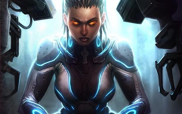 StarCraft II: Heart of the Swarm - motyw graficzny /Informacja prasowa