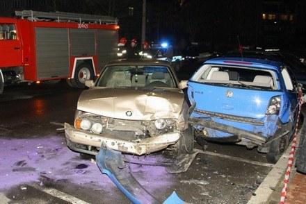 Stare BMW sprawcy /Policja