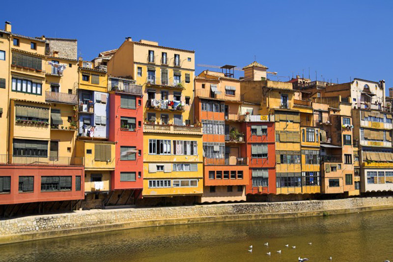Stare miasto Girona, Hiszpania /Jan Wodarczyk, Agencja FORUM /