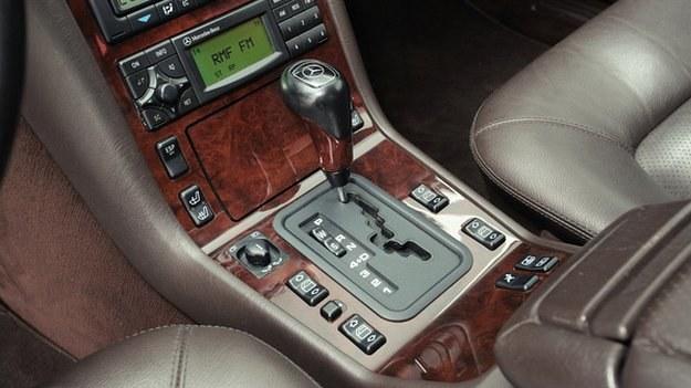 Stare skrzynie Mercedesa należą do najtrwalszych automatów. /Motor