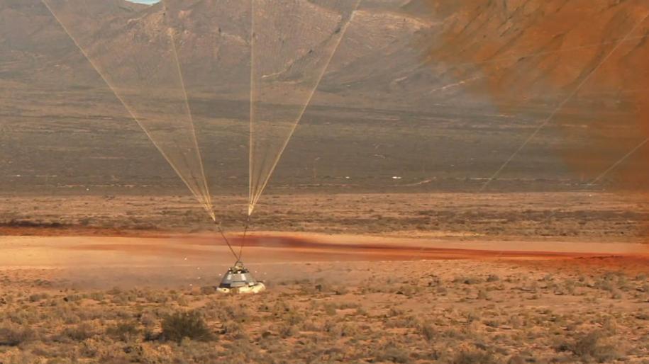 Starliner po wylądowaniu /NASA /Materiały prasowe