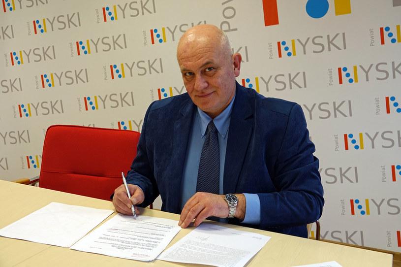 Starosta nyski Andrzej Kruczkiewicz /Powiat Nyski /materiały prasowe