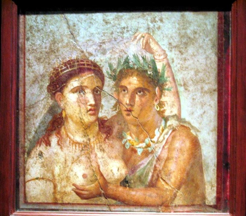 Starożytna mozaika w Narodowym Muzeum Archeologicznym w Neapolu /Flickr.com /&nbsp