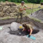 Starożytna osada odkryta dzięki kretom