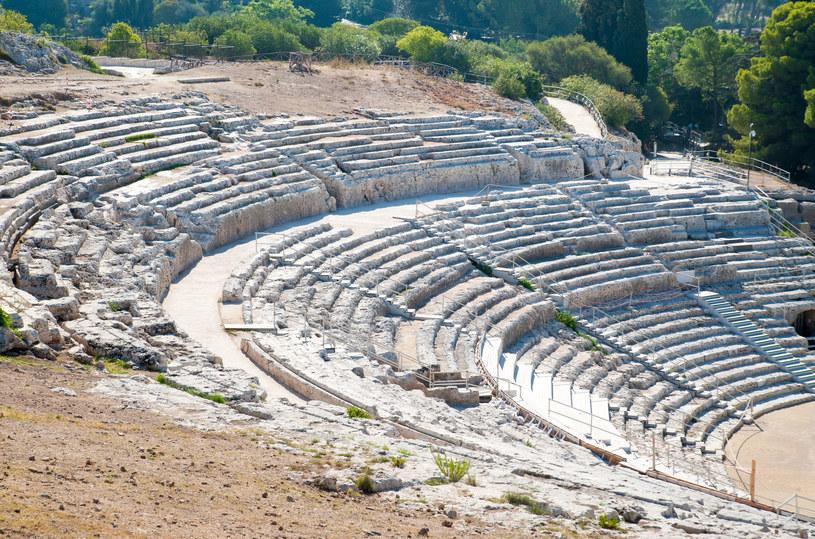 Starożytny amfiteatr w Syrakuzach /123RF/PICSEL
