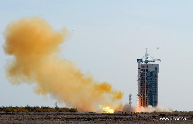 Start CZ-4B z satelitą SJ16-2. Źródło: www.news.cn /Kosmonauta