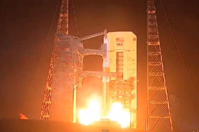 Start Delty 4 z satelitą Navstar 2F-5. /materiały prasowe