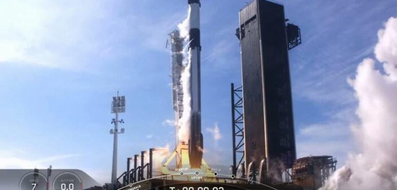 Start misji CRS-21. Fot. SpaceX /materiały prasowe