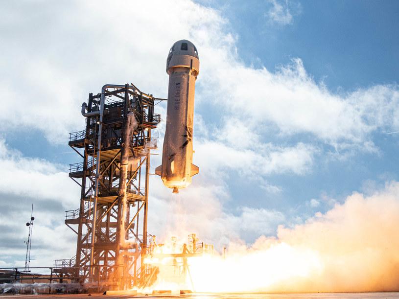 Start misji testowej New Shepard 12 /materiały prasowe