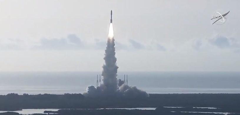 Start rakiety Atlas V z Przylądka Canaveral. Start i jego kolejne etapy przebiegły zgodnie z planem /NASA