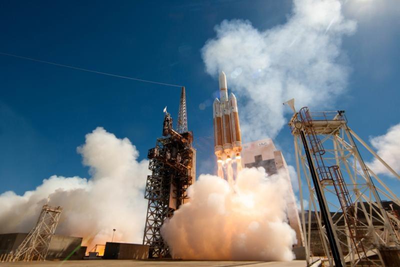 Start rakiety Delta IV Heavy z satelitą NROL-65 Fot. ULA /Kosmonauta