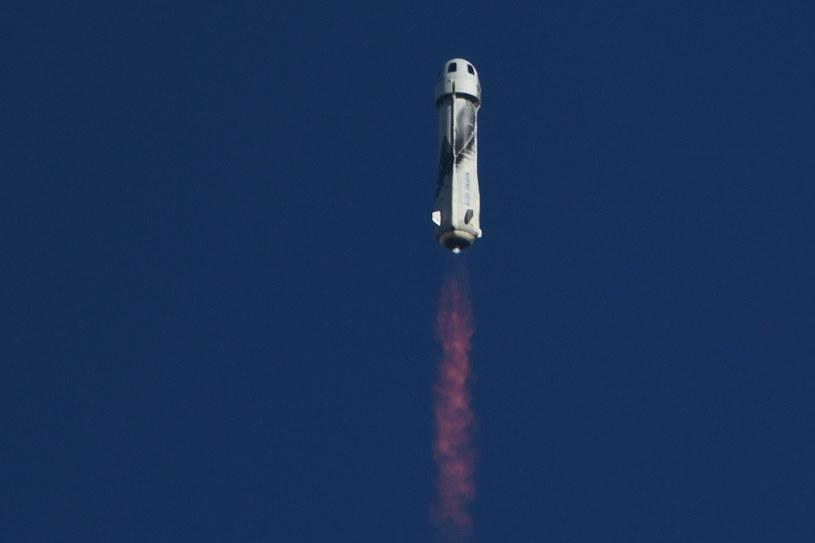 Start rakiety New Shepard /PATRICK T. FALLON /AFP