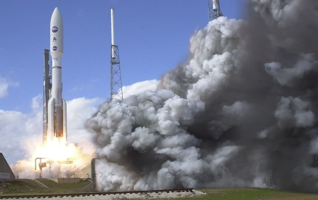 Start rakiety nośnej Atlas V /AFP