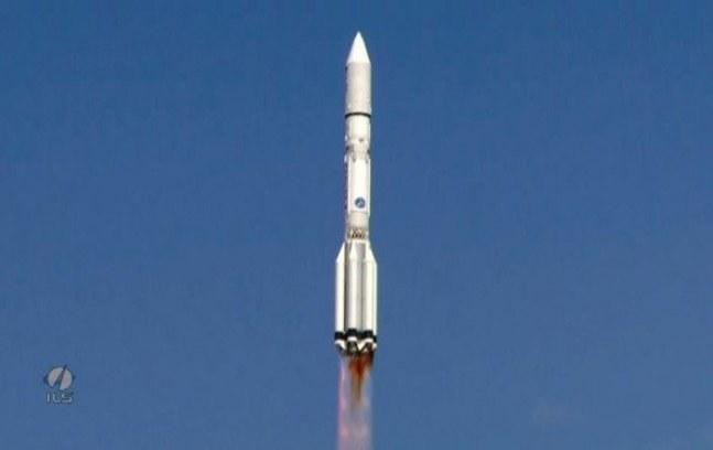 Start rakiety Proton-M. /materiały prasowe