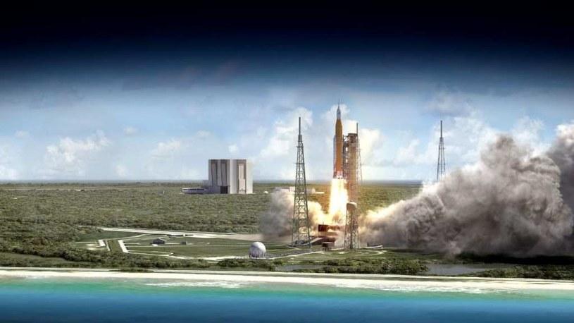 Start rakiety SLS – jednego z elementów największego obecnie programu NASA /NASA