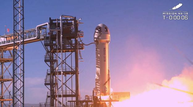 Start rakiety /BLUE ORIGIN HANDOUT /PAP/EPA