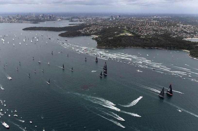 Start regat Sydney - Hobart. /PAP/EPA