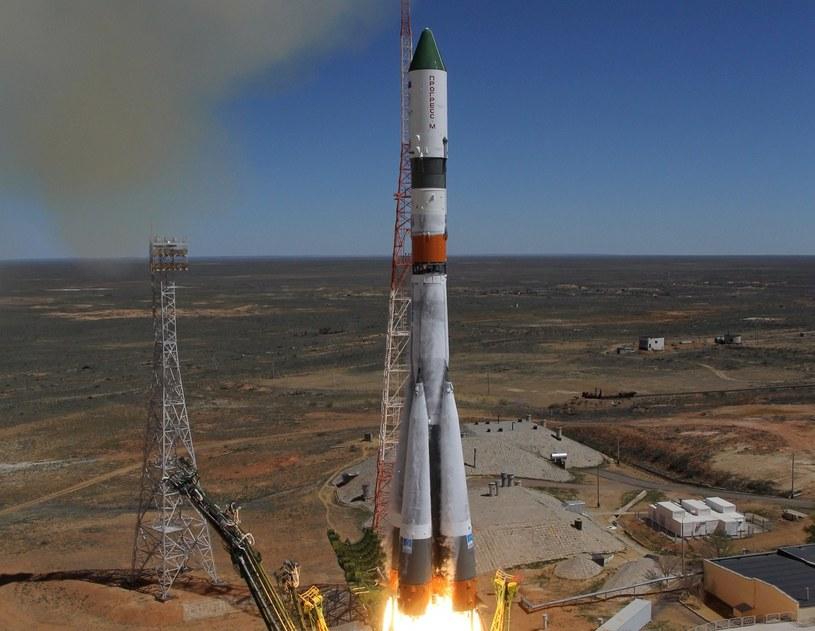 Start rosyjskiego statku kosmicznego Progress M-27M /AFP