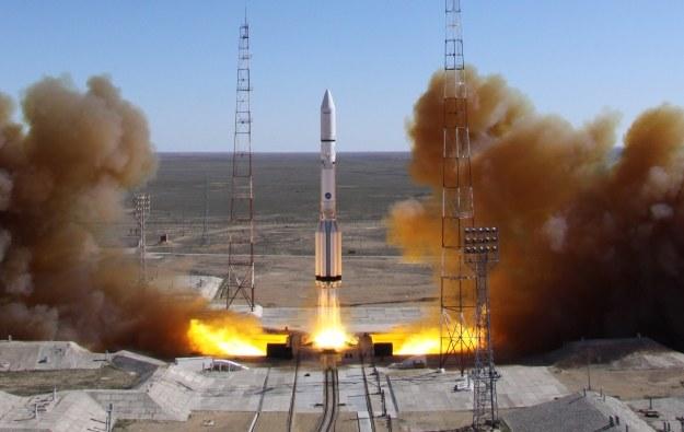 Start rosyjskiej rakiety /AFP