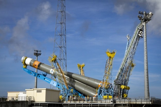 Start Soyuza z satlita programu Galileo /AFP