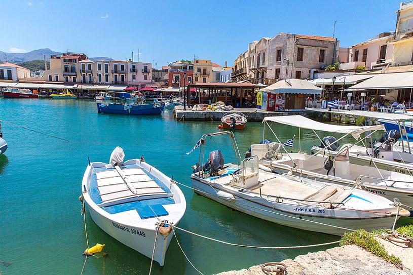 Stary port w Rethymnon /123RF/PICSEL