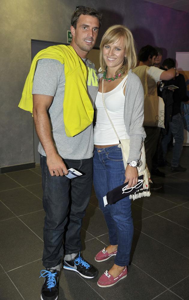 Staszek z żoną, fot.Kurnikowski  /AKPA
