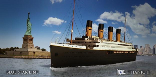 """Statek będzie nazywał się """"Titanic II"""" /BLUE STAR LINE HANDOUT /PAP/EPA"""