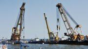 """Statek """"Bułgaria"""" już widoczny nad powierzchnią wody"""