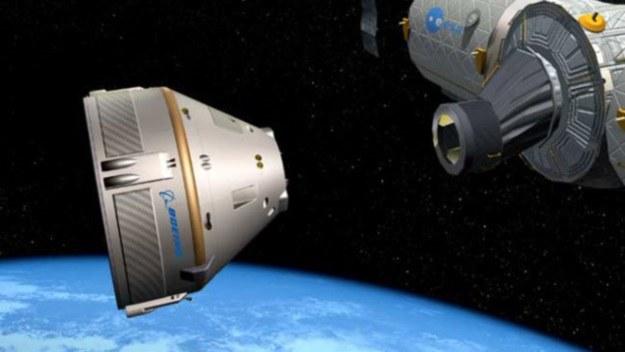 Statek Crew Space Transportation (CST-100), czyli jednen z załogowych komercyjnych statków kosmicznych /NASA