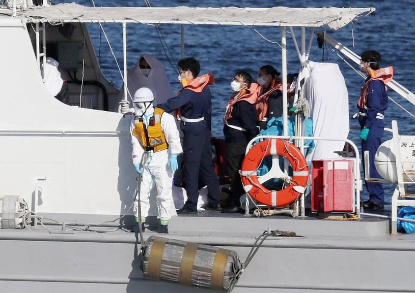 Statek Diamond Princess w japońskim porcie Jokohama /AFP
