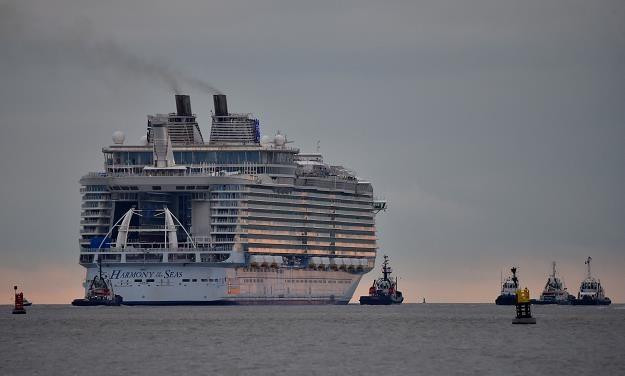 """Statek """"Harmony of the seas"""" został w czwartek uroczyście przekazany jego armatorowi, RCCL /AFP"""