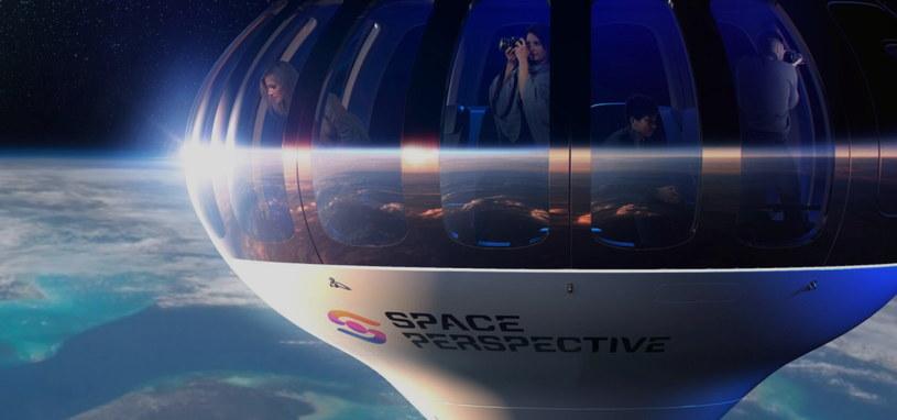 Statek kosmiczny Neptun firmy Space Perspective /materiały prasowe