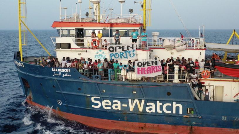 Statek Sea-Watch 3 /SEA-WATCH HANDOUT /PAP/EPA