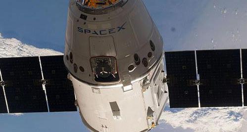 Statek SpaceX CRS-7 Dragon /NASA