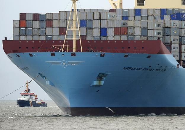 Statek Triple-E ma 400 metrów długości, 59 metrów szerokości i 73 metry wysokości. /AFP