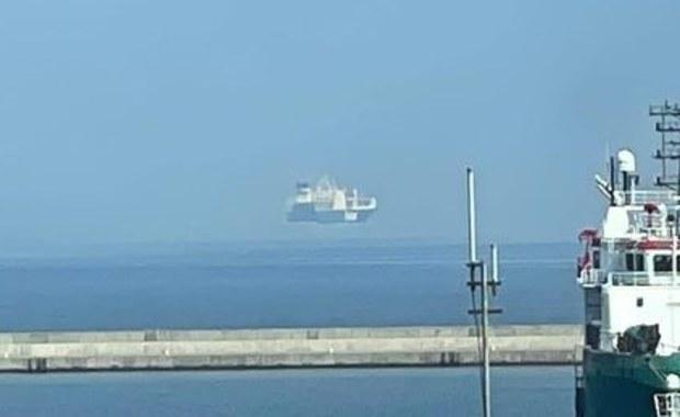 Statek unoszący się w powietrzu? Zobaczcie wyjątkowe zjawisko