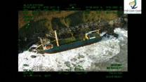 Statek widmo rozbił się u wybrzeży Irlandii